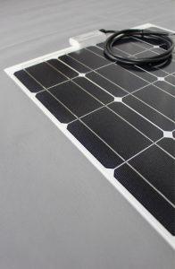 Solarmodul superflach hinten