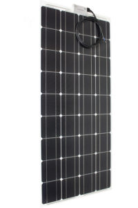Solarmodul superflach vorne