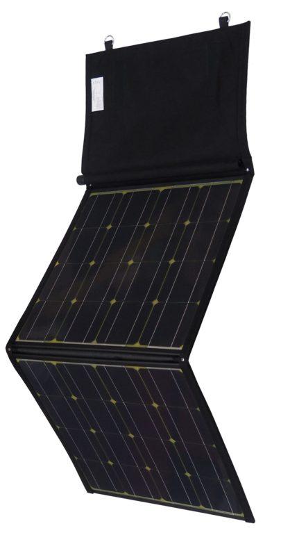 100 W Solarmodul faltbar Seitenansicht