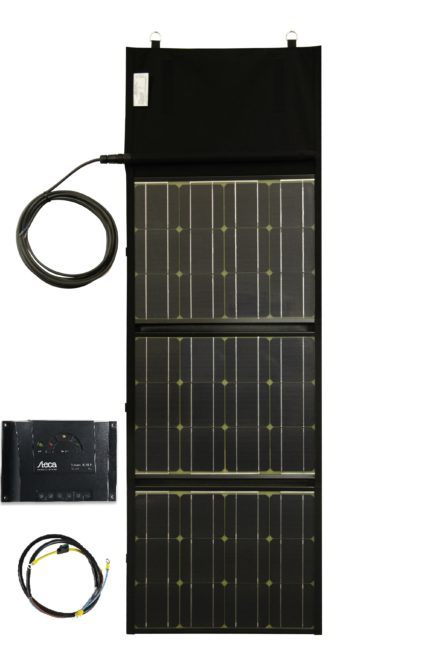 Solaranlage mobil faltbar