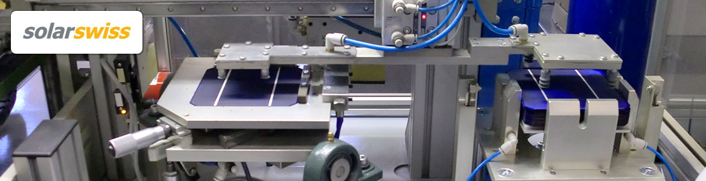 Solarzellen Produktion