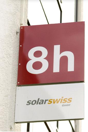 Solarswiss Eingang