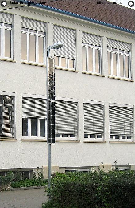 Energiestation Solarleuchte 100R
