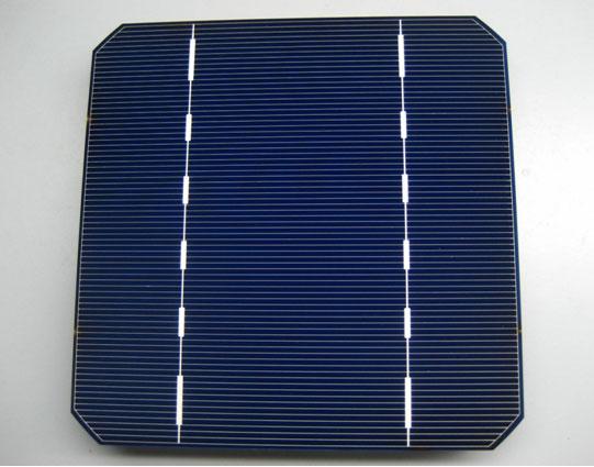 Solarzelle monokristallin